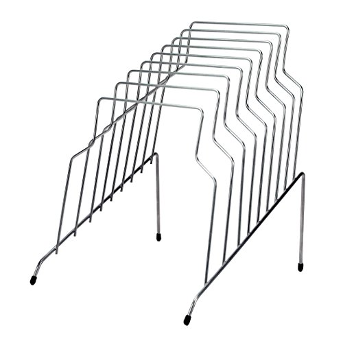 Wire Desktop - Fellowes Step File, 8 Sections, 10.12 x12.12 x 11.87 Inches, Wire, Silver (72604)