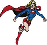 Supergirl DC Comics Iron On Patch - Running Superhero Applique