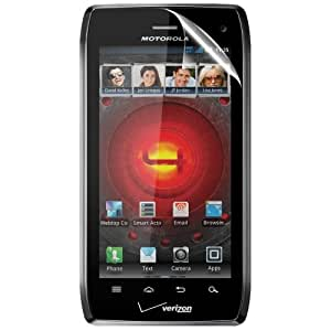 C.Skins 3 -Pack Premium Clear Screen Protector for Motorola DROID 4 XT894, MASERATI Invisible LCD Guard Cover