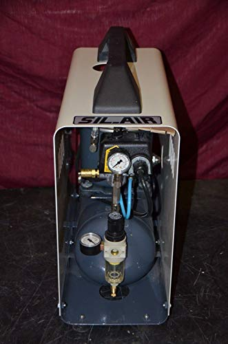 Silentaire Technology Sil-Air 50D-A Oil Lubricated Silent Compressor 115V 2.1CFM