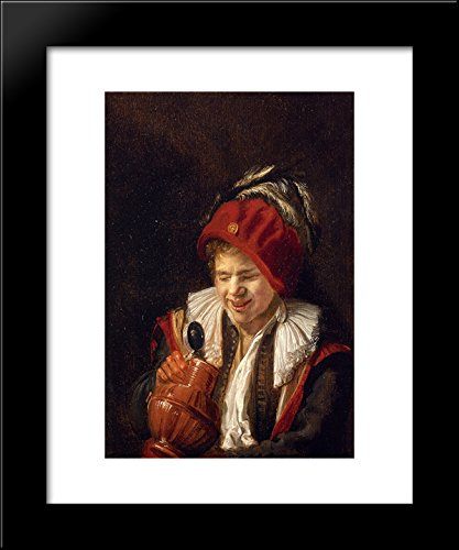 A Youth with a Jug 20x24 Framed Art Print by Judith Leyster