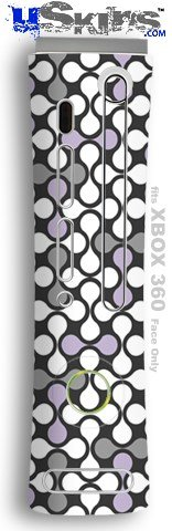 Lavender Faceplates (XBOX 360 Faceplate Skin - Locknodes 05 Lavender)