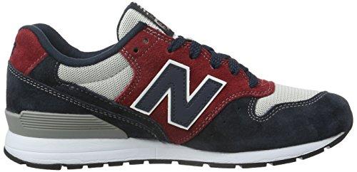 New Balance 996 - Zapatillas Hombre Varios Colores (Grey/Red/Blue)
