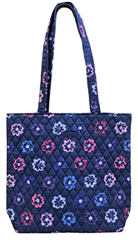 (Vera Bradley Tote with Solid Color Interior (Updated Version) (Ellie Flowers))