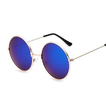 Gafas de Sol Retro Gafas Redondas pequeñas Hombres Mujeres ...