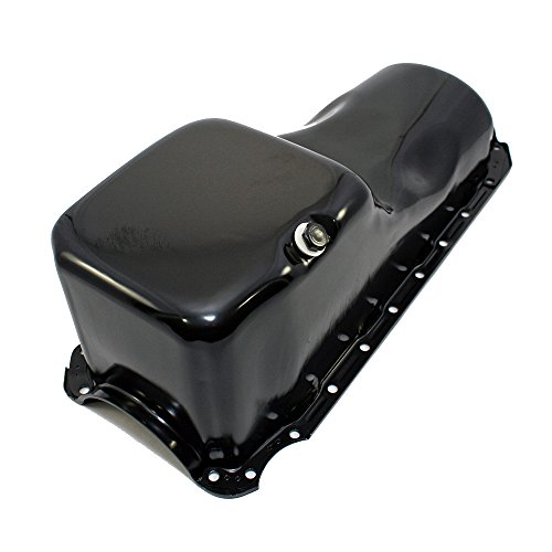 Assault Racing Products A9294P Big Block Chevy Black Stock Style 4qt Oil Pan BBC 396 402 427 454