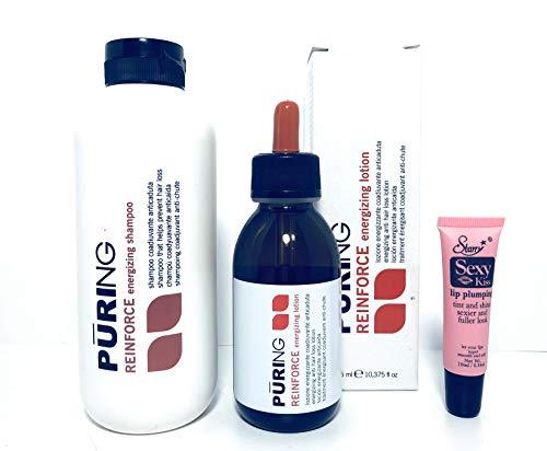 Maxima Puring Reinforce (Vigor) Shampoo 350ml/11.83oz & Energizing Lotion 125ml
