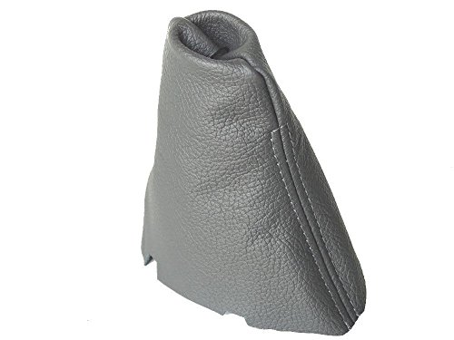 - For Mercedes CLK W209 2002-09 Automatic Shift Boot Grey Genuine Leather