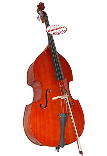 D'Luca 4/4 Upright Double Bass with Bag and Bow by D'Luca