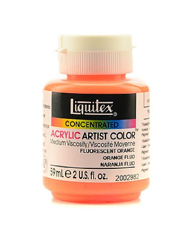 Liquitex Soft Body Professional Artist Acrylic Colors fluore