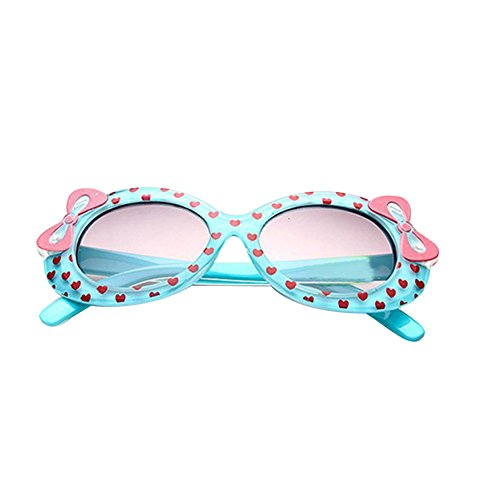Weixinbuy Kids Love Printed UV Protection Sunglasses - Protection Uv And Polarized Difference Between