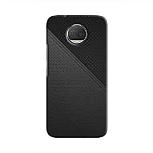 Cover It Up - Leather Stiched Moto G5s Plus Hard Case