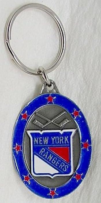 CAMISETA DE LOS NEW YORK RANGERS LLAVERO DE HOCKEY SOBRE ...
