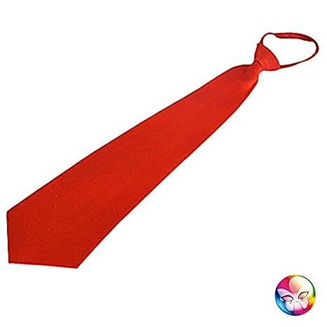 PTIT CLOWN 60244 Cravate Sequins avec /Élastique Rouge