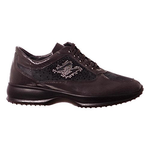 Sneakers amp;co 8757 Igi Scarpa Italy In Made Pelle Donna Antracite WxqfXnqI