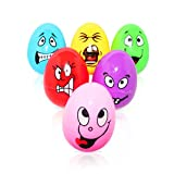 Egg Shakers Set of 6pcs Percussion Musical Instruments Maracas Toys For Babies Kids Toddlers By Core Materials