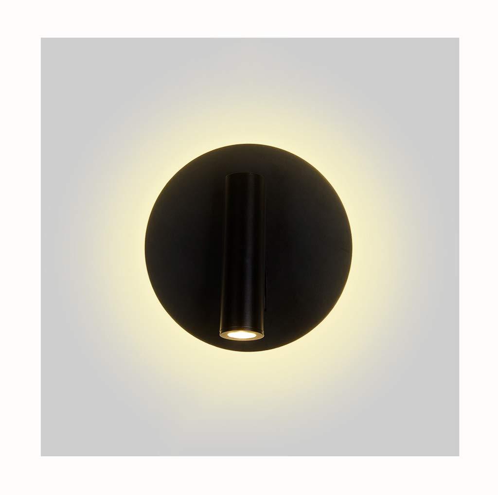 QQB Außenleuchte Wandleuchten LED Acryl Nachtlicht Rotierende Anpassung Leselicht Wandleuchte (Farbe   B)