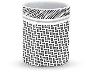 Stylizedd Mug 11oz Ceramic Mug Shemag Black
