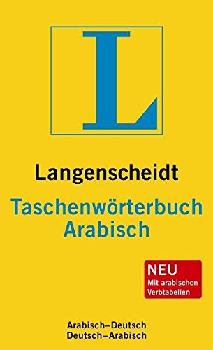 Langenscheidt Taschenwörterbuch Arabisch: Arabisch-Deutsch/Deutsch-Arabisch (Langenscheidt Taschenwörterbücher)