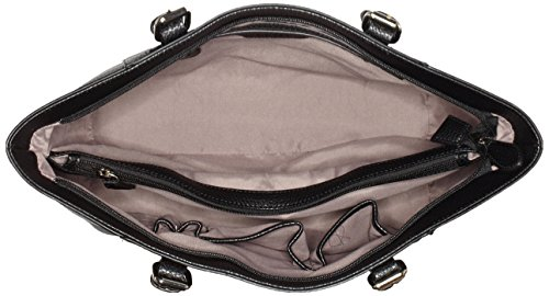 Credi Black Shoulder L Credi Women's Bag Schwarz INES L qEwBx1faO