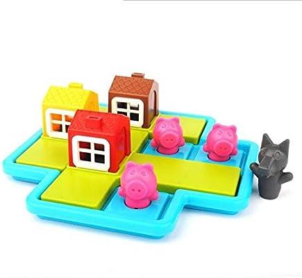 UYGN Smart Hide & Seek Juegos De Mesa Three Little Piggies 48 ...