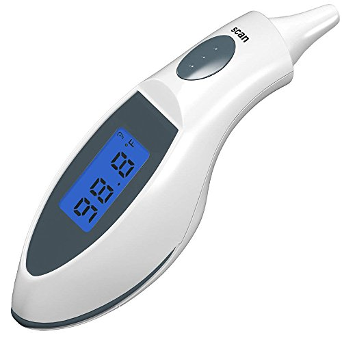 Baby Adult Safe Digital Body Temperature Portable Infrared IR Ear Thermometer for Kids and Adult
