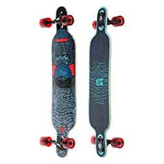 CLASSIC SURF DESIGN: With its classic surf design & handy kicktail, the Mandala is a versatile, ready-to-rip cruiser. The snappy cambered deck makes quick turning & pumping easy while the comfortable concave & wide platform keep y...