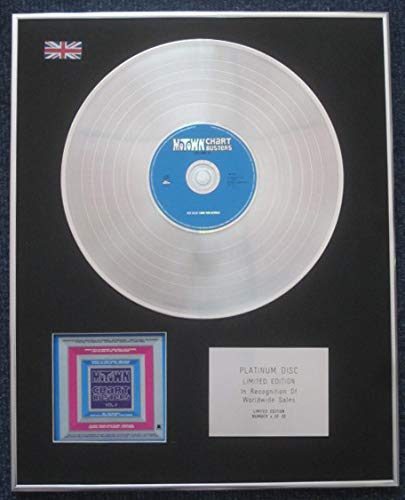 Century Presentations - Motown CHARTBUSTERS - Limited Edition CD Platinum LP Disc - VOL 4 ()