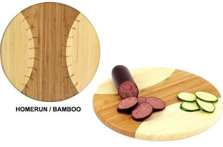 - NCAA James Madison Dukes Homerun! Bamboo Cutting Board with Team Logo, 12-Inch