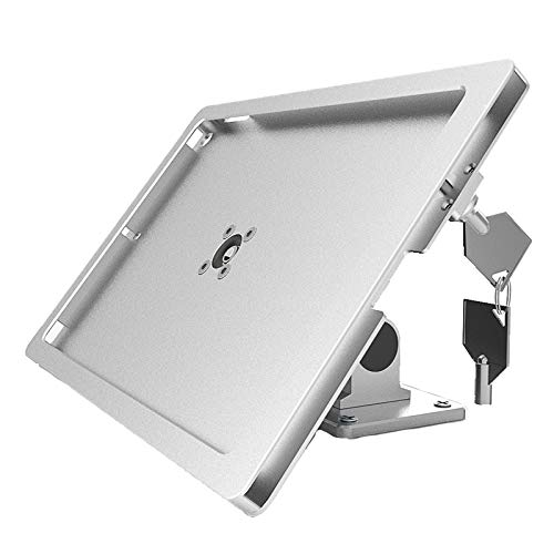 AIZYR Anti-Theft Tablet Stand, Wall Mount FLIP & Rotate Design Lazy Tablet Holder for iPad 10.2'', iPad Pro 10.5""