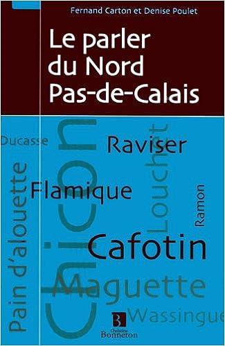 Livres Le parler du Nord Pas-de-Calais pdf