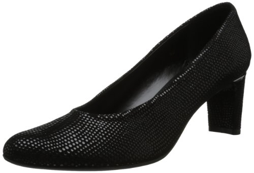 Vaneli Print Pumps (VANELi Women's Dayle Dress Pump,Black E-Print,9.5 M US)
