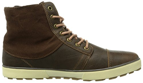 Kappa Metropolis Footwear Men, Synthetic - Zapatillas para hombre Multicolor (5043 BROWN/OFFWHITE)
