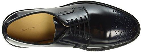 Gant Sara, Zapatos de Cordones Derby para Mujer Azul - Blau (Marine G69)