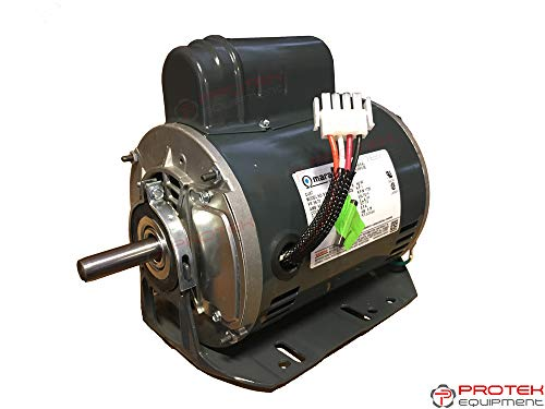 Pro-Tek Replacement Electric Motor for Tire Changer Coats Rim Clamp 5060AX, 5060EX, 7060AX, 7060EX ()