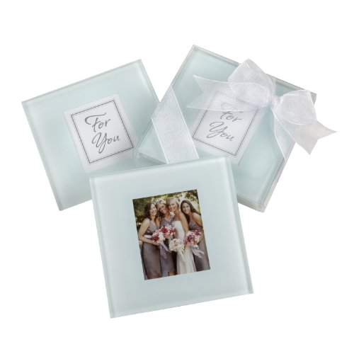 Coasters Photo Glass Frosted (Forever Photo Frosted Glass Coasters)