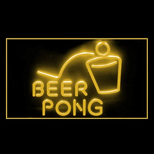 - 170099 Beer Pong Bar Pub Club Game Table College Display LED Light Sign