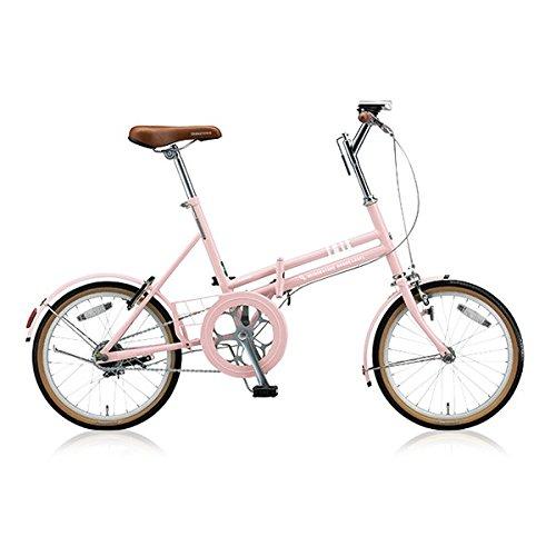 ブリヂストン(BRIDGESTONE) 折りたたみ自転車 マークローザ F MRF81 E.Xサンドピンク 変速なし B076J8TKZS