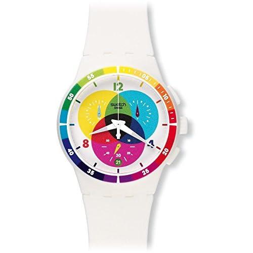 Swatch Unisex Chromograph Analog Display Watch