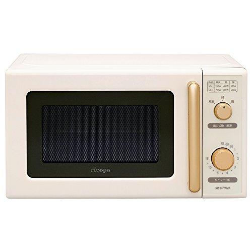 "IRIS OHYAMA Micro Wave Ovens ""ricopa"" IMB-RT17-C (Ivory)【Japan Domestic genuine products】"