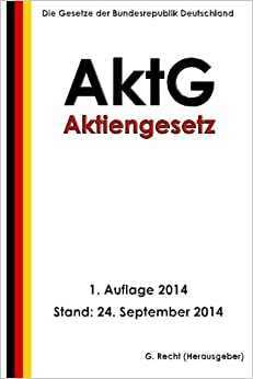 Book Aktiengesetz (AktG)