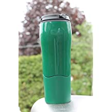 Mighty Mug Go Travel Mug 'The Mug That Won't Fall Over' Thermos 16 oz. / 0.47L (Green)