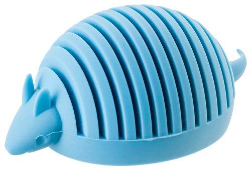 yamazaki-home-silicone-animal-card-holder-blue-armadillo