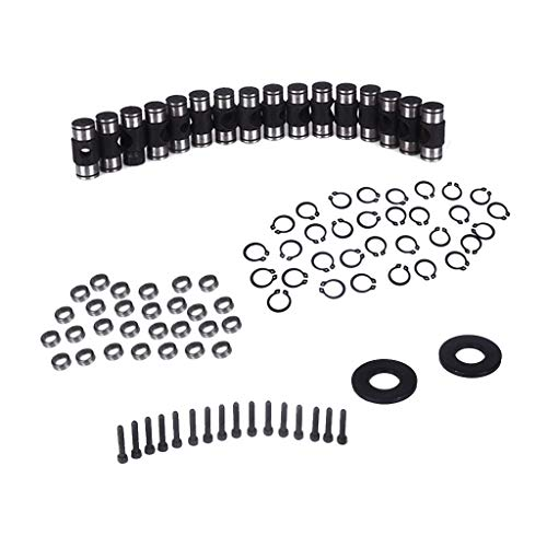 Flameer Auto Car Engine Rocker Arm Trunion Kit with Big Clip for 5.3L 6.0L 6.2L 7.0L LS1 LS3 by Flameer (Image #9)