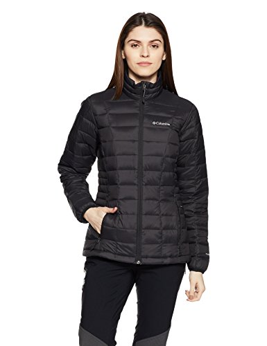 Columbia Women's Voodoo Falls 590 TurboDown Jacket, Black, Small (Women Ski Jacket Columbia)