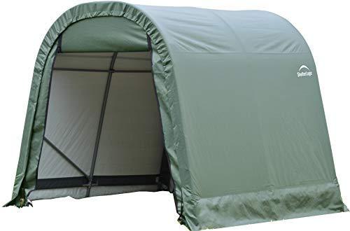 新作商品 ShelterLogic 10'x12'x10' 77827 Green 10'x12'x10' B07R3Y9DPR Round Style Green Shelter [並行輸入品] B07R3Y9DPR, MJ DIVA:1bdaa56f --- arianechie.dominiotemporario.com
