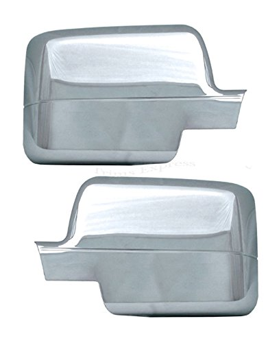 (MaxMate Fits 04-08 Ford F150 (Not for Heritage) Chrome Mirror Cover)