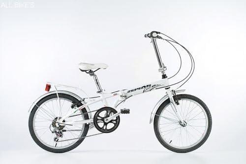 Zephyr Bicicleta Modelo Easy Bike - Bicicleta de Ciudad (Blanco, L ...