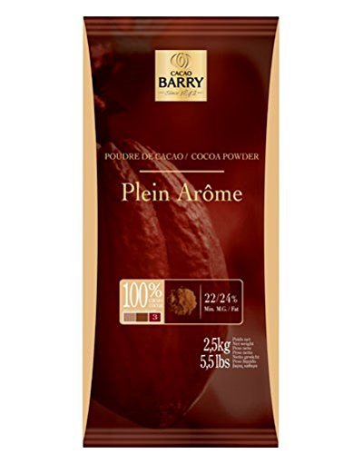 Poudre de Cacao Plein Arome Cocoa Barry (Cocoa Powder), 2.2-Pound Package by Cacao Barry ()