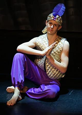 Stage-Shows-Pantomime ALADDIN GENIE OF THE LAMP GOLD WAISTCOAT TROUSERS u0026  sc 1 st  Amazon UK & Stage-Shows-Pantomime ALADDIN GENIE OF THE LAMP GOLD WAISTCOAT ...